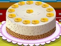Флеш игра Банановый пирог с творогом
