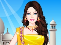 Флеш игра Барби: Индийская принцесса