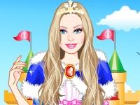 Флеш игра Барби алмазная принцесса