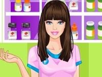 Флеш игра Барби фармацевт