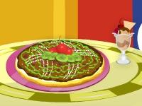 Флеш игра Барби готовит фруктовую пиццу