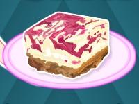 Флеш игра Барби готовит желейный чизкейк