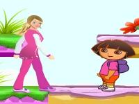 Флеш игра Барби и Даша путешественница