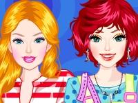 Флеш игра Барби и Элли путешествуют по Европе