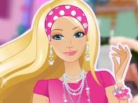 Флеш игра Барби катается на роликах