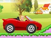 Флеш игра Барби на кабриолете