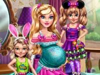 Флеш игра Барби с близнецами