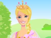 Флеш игра Барби с длинной косой