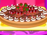 Флеш игра Барби украшает яблочный пирог