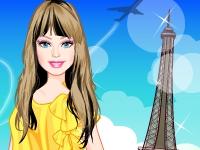 Флеш игра Барби в Париже