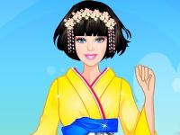 Флеш игра Барби в Японии