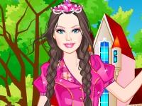 Флеш игра Барби в академии очаровательных принцесс
