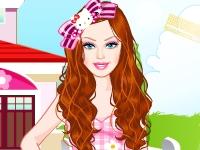 Флеш игра Барби в стиле Хелло Китти