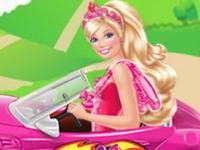 Флеш игра Барби выбирает новую машину