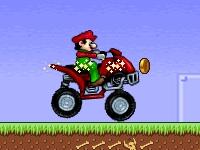 Флеш игра Барио на квадроцикле