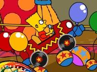 Флеш игра Барт Симпсон в цирке