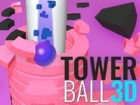 Флеш игра Башня и мяч 3D