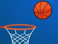 Флеш игра Баскетбол пальцем