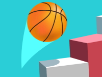 Флеш игра Баскетбол по спирали 3D