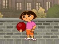 Флеш игра Баскетбол с Дашей