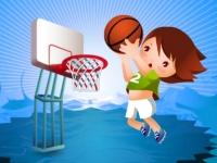 Флеш игра Баскетбол с препятствиями