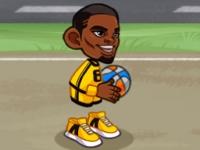 Флеш игра Баскетбол с ящиками