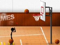 Флеш игра Баскетбол со стикменом
