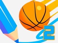 Флеш игра Баскетбольная линия 2