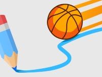 Флеш игра Баскетбольная линия