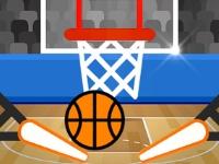 Флеш игра Баскетбольный пинбол