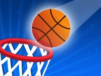 Флеш игра Баскетбольный вызов: Подставь корзину