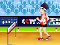 Флеш игра Бег на 110 метров с препятствиями