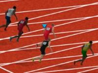 Флеш игра Бег на сто метров