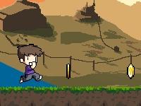 Флеш игра Бег с гравитацией