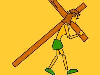 Флеш игра Беги, Иисус, беги