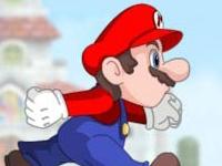Флеш игра Беги, Марио, беги 2