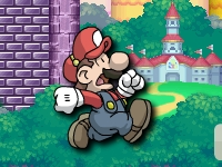 Флеш игра Беги, Марио, беги