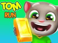Флеш игра Беги, говорящий кот Том!