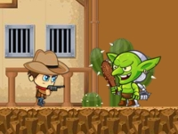 Флеш игра Беги, ковбой, беги!