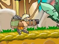 Флеш игра Беги, пещерный человек