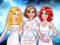 Флеш игра Белая вечеринка у принцесс