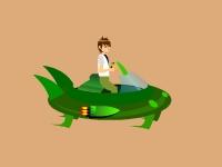 Флеш игра Бен 10: Бой с пришельцами