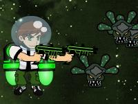 Флеш игра Бен 10: Бой в космосе