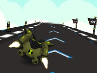 Флеш игра Бен 10: Быстрая космическая гонка