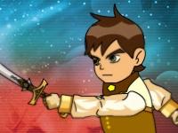 Флеш игра Бен 10: Быстрый удар