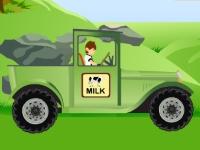 Флеш игра Бен 10: Доставка молока