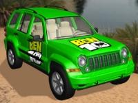 Флеш игра Бен 10: Гонка на грузовике-монстре