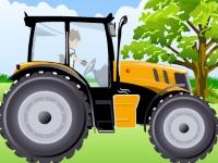 Флеш игра Бен 10: Гонка на тракторе