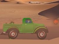 Флеш игра Бен 10: Гонка в пустыне на авто