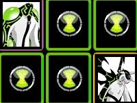 Флеш игра Бен 10: Ищем пары пришельцев